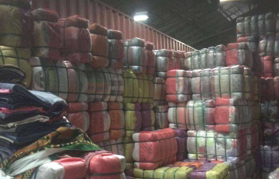 Clothes bales